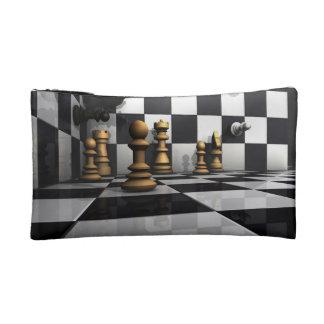 Chess Play King Cosmetic Bag