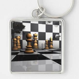 Chess Play King Key Ring