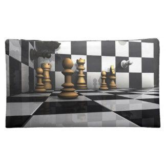 Chess Play King Makeup Bag