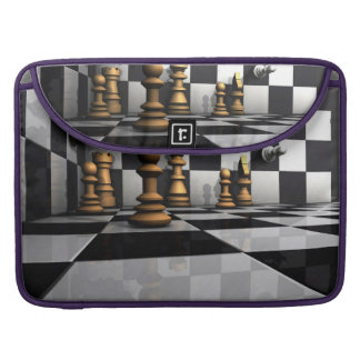 Chess Play King Sleeve For MacBooks