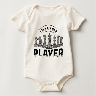 Chess Player Baby Bodysuit