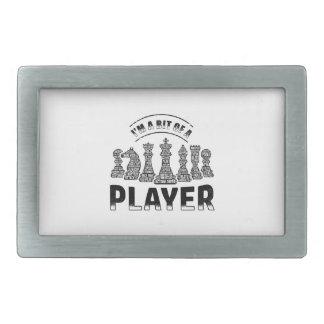Chess Player Belt Buckles