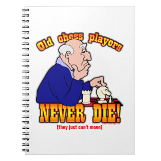 Chess Players Spiral Notebook