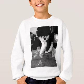 chess playing cat sweatshirt