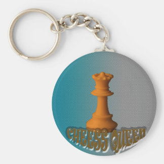 Chess queen key ring