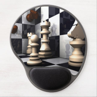 Chess Style Gel Mouse Pad