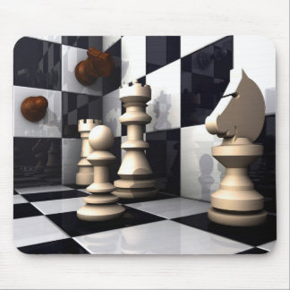 Chess Style Mouse Pad