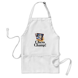 Chess T-shirts and Gifts. Adult Apron