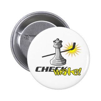 Chess T-shirts and Gifts. 6 Cm Round Badge