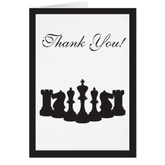 Chess Thank You Card