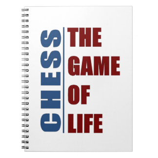 Chess the game of life notebook