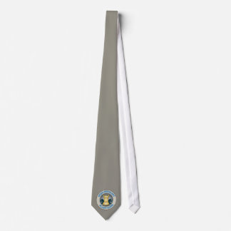 Chess University on Planet Earth Emblem Tie