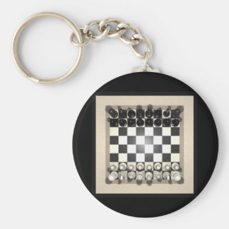 Chessboard and Chess Pieces: Keychains
