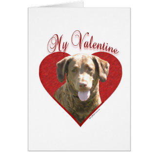 Chessie My Valentine Card