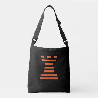 ChessME Custom All-Over-Print Cross Body Bag Black