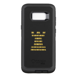 ChessME OtterBox Samsung Galaxy S8+ Faux Gold OtterBox Defender Samsung Galaxy S8+ Case