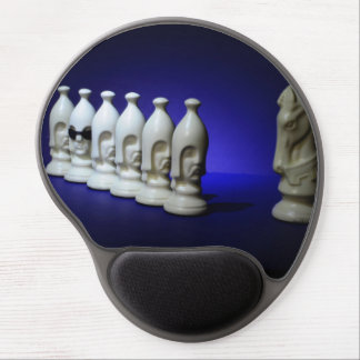 Chessmen Gel Mouse Pad