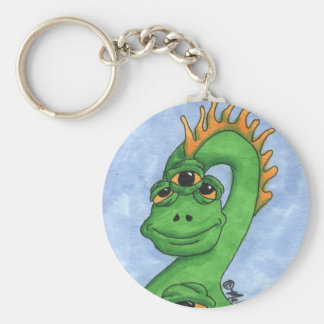 Chester Basic Round Button Key Ring