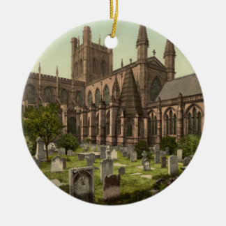 Chester Cathedral, Cheshire, England Ceramic Ornament