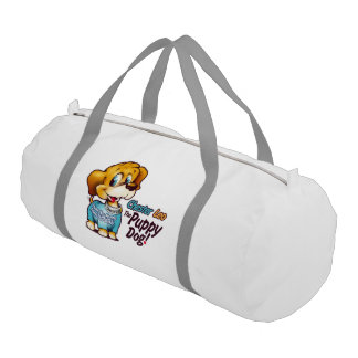 Chester Leo: The Puppy Dog! Duffle Bag