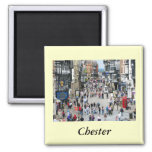 Chester Main Street Square Magnet
