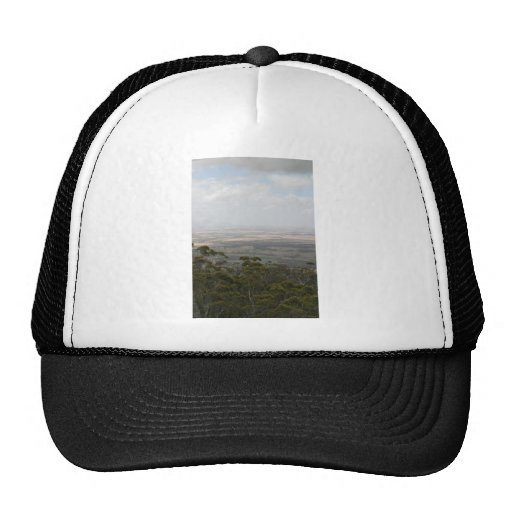 Chester Pass From Castle Rock In Western Australia Mesh Hat
