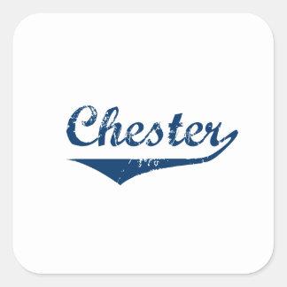 Chester Square Sticker