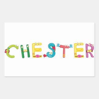 Chester Sticker