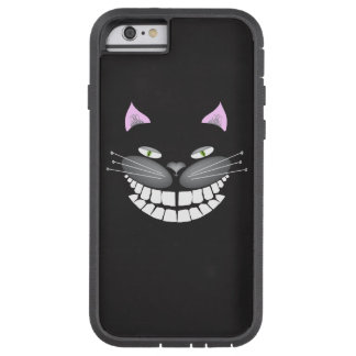 Chester the Black Cheshire Cat on iphone case