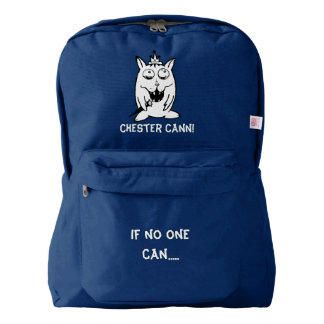 #ChesterCann if no one can! Backpack - Bookbag