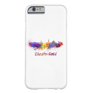 Chesterfield skyline in watercolor barely there iPhone 6 case