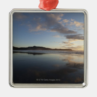 Chesterman Beach at Sunset, Tofino, Vancouver Metal Ornament
