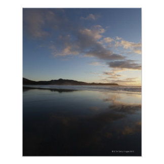 Chesterman Beach at Sunset, Tofino, Vancouver Poster