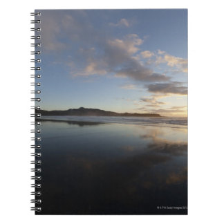 Chesterman Beach at Sunset, Tofino, Vancouver Spiral Notebooks