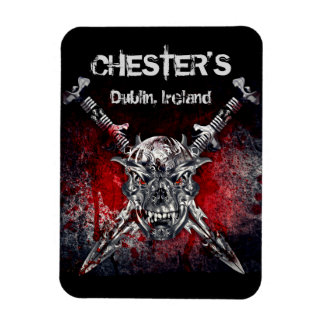 "Chester's 3""x4"" Magnet"
