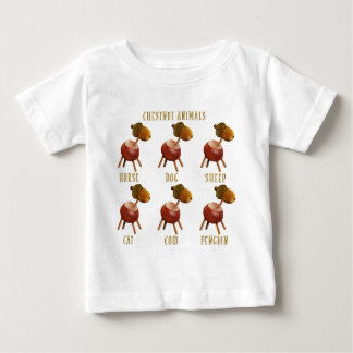 chestnut animals baby T-Shirt