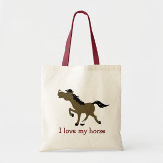 CHESTNUT HORSE Lover Grocery Bag