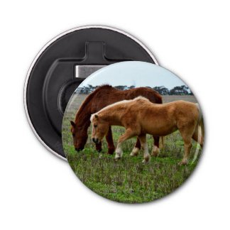 Chestnut Mare And Foal, Bottle Opener
