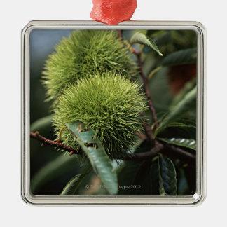 Chestnut Tree Metal Ornament