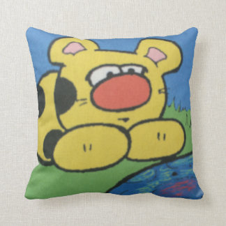 Chet Cheetah Cushion