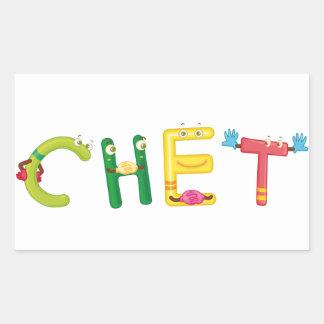 Chet Sticker