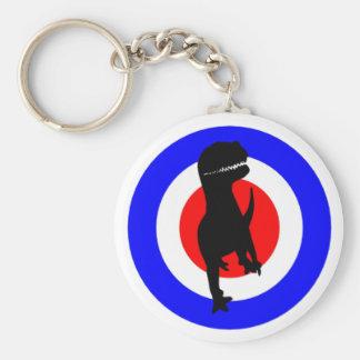 Cheveiro Dinolino Underground Basic Round Button Key Ring