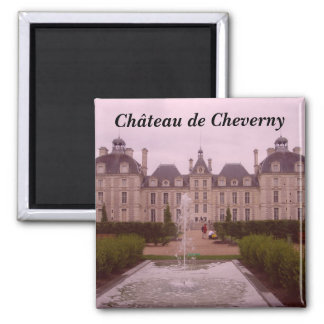 Cheverny - square magnet