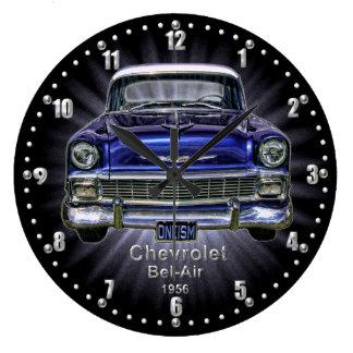 Chevrolet Bel-Air 1956 Quartz Wall Clock