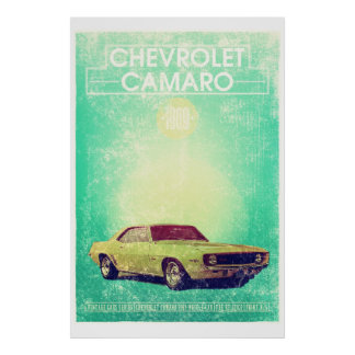 Chevrolet Camaro 1965 Poster