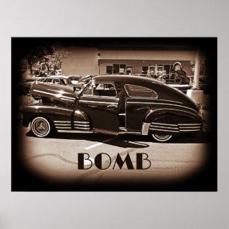 Chevrolet Fleetline Lowrider Bomb Poster