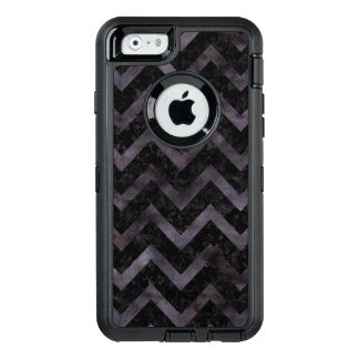 CHEVRON9 BLACK MARBLE & BLACK WATERCOLOR OtterBox DEFENDER iPhone CASE