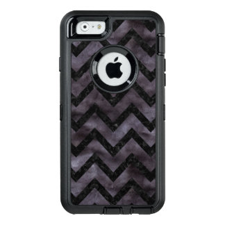 CHEVRON9 BLACK MARBLE & BLACK WATERCOLOR (R) OtterBox DEFENDER iPhone CASE