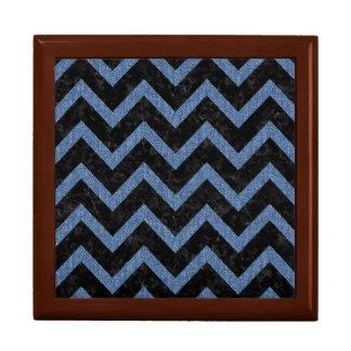 CHEVRON9 BLACK MARBLE & BLUE DENIM GIFT BOX
