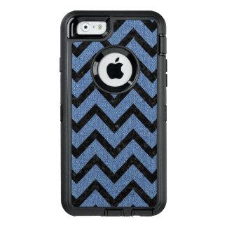 CHEVRON9 BLACK MARBLE & BLUE DENIM (R) OtterBox DEFENDER iPhone CASE